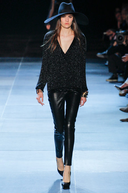 YSL Leather pants