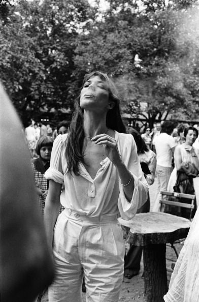 JANE BIRKIN WHITE